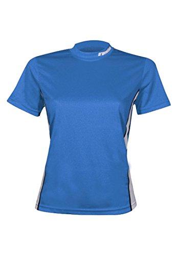 Newline Race T-shirt pour femme Bleu Medium bleu