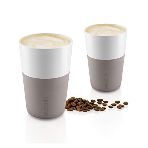 Eva Solo Latte Becher Warm grey, 2 Stk