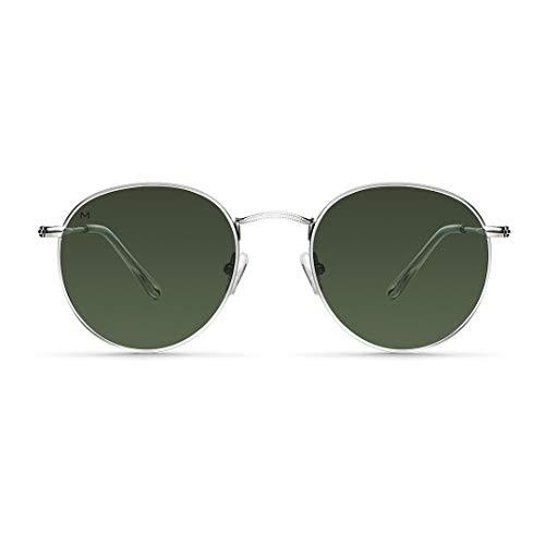 MELLER - Yster Silver Olive - Gafas de sol para hombre y mujer