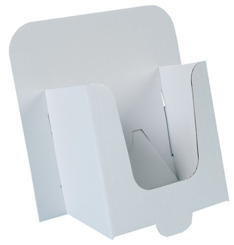 Dispensadores de Cartón para Folletos DL, Paquete de 50