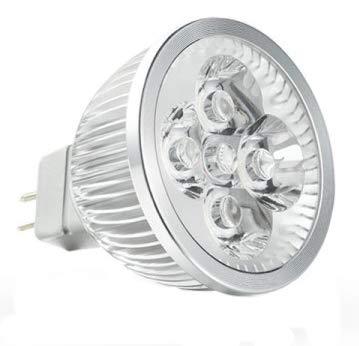 6er-Pack-LED GU5.3-MR16-Spot-4x1watt- 440lumen- lichtfarbe 3000K-nicht dimmbar