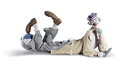 Lladro Sale Porcelain Clown 010.04618 Worldwide Shipping