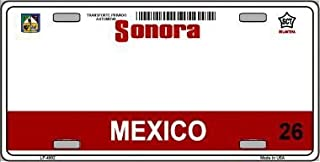 Smart Blonde LP-4802 Sonora Mexico Novelty Background Metal License Plate