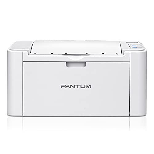 Impresora láser Pantum P2508W monocromo inalámbrico negro y blanco A4 22 PPM – Función única para oficina o escuela y casa