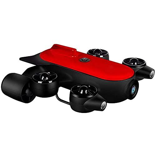 Drone Subacuático, Lente Anti-vibración De 12 Millones De EIS, 6 Grados De Libertad De Movimiento,HD Transmisión De Imagen Cámara Submarina Drone Fotografía Y Vídeo Subacuático