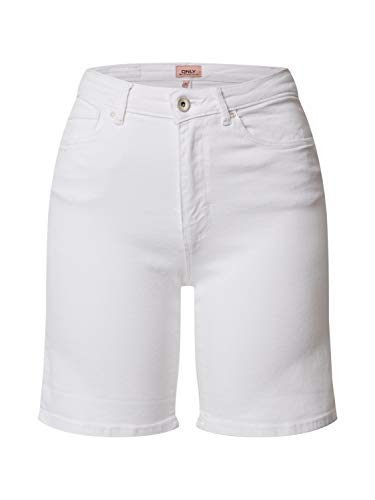 ONLY dames Jeansshorts ONLPAOLA HW SHORTS BB AZG
