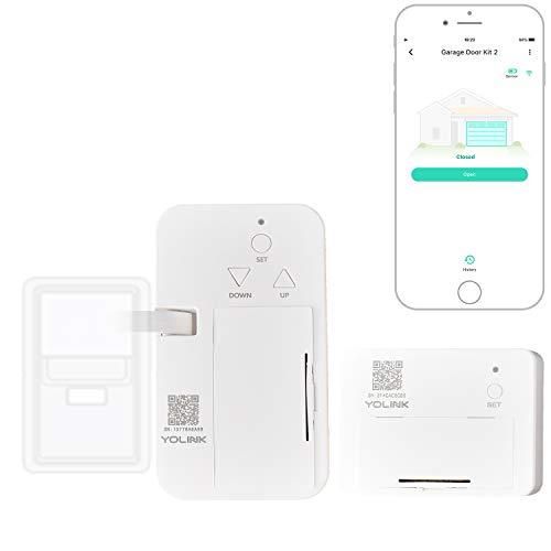 YoLink 1/4 Mile World's Longest Range Smart Wireless Garage Door Opener, App Control, Compatible with Alexa IFTTT, YoLink Hub Required