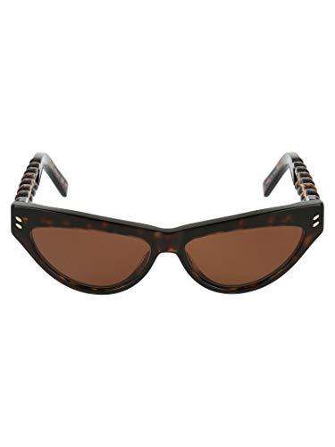 Stella McCartney Moda De Lujo Mujer SC0235S002 Marrón Acetato Gafas De Sol | Otoño-invierno 20