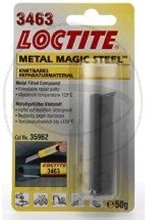 2K EPOXID KLEBSTOFF 50 GR. 3463   557.43.55   LOCTITE® 2K Stahlknete (Metal Magic Steel™) 3463  100 ml 31,58 €