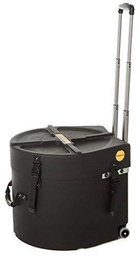 HARDCASE HNMS14HTDX Marching Snare-Koffer mit Rollen und Griff, 35,6 x 30,5 cm