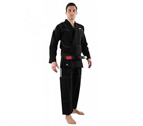 Adidas Challenge 2.0BJJ de jiu-Jitsu brasileño/GI/Kimono/Traje/Selección de Colores/tamaños Selección, Negro