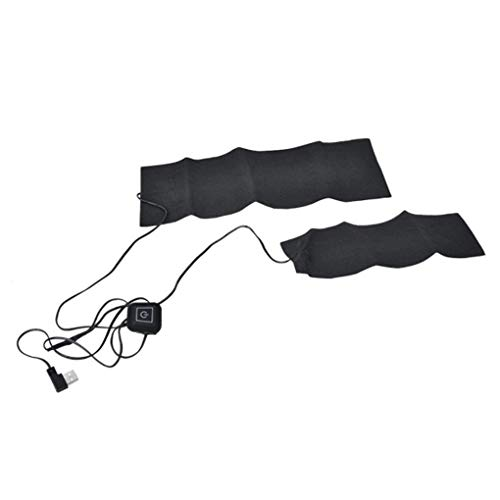 USB-Lade Heizweste Beheizte Warme Jacke Mit Einstellbare Temperatur F/ür K/örperw/ärmer in Winter Outdoor Camping BLTX Herren Elektrische Beheizte Weste Beheizbare Jacke