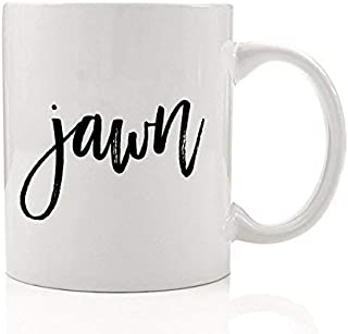 jawn Philly Coffee Mug Philadelphia Gift Idea Funny Cool Phila 215 Style Hip Hop Urban Birthday Christmas Present for Friend Son Daughter Coworker 11oz Ceramic Tea Cup by Digibuddha DM0076