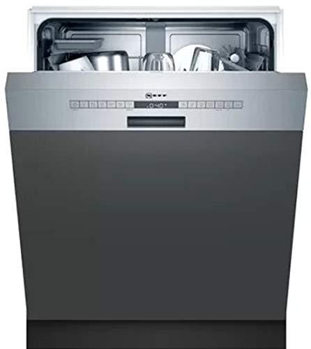 Neff S145HAS24E - Lavavajillas (60 cm, acero inoxidable, D, N50, 46 dB, Eco 9,5 l, 295 min, 84 kWh/100 ciclos, 13 MGD)