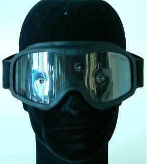Schußsichere Schutzbrille 614M - Beschlagfreie Doppelscheibe mit militärisch ballistischer schußhemmender Ausrüstung - Hochleistungs-Vollsichtbrille für Polizei und deren Spezialeinheiten sowie Anwender mit höchsten Augenschutz-Anforderungen