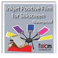 Wasserdicht Inkjet Positive Film für Seiden Bildschirm 8,5x 11(100Blatt) von fixxons