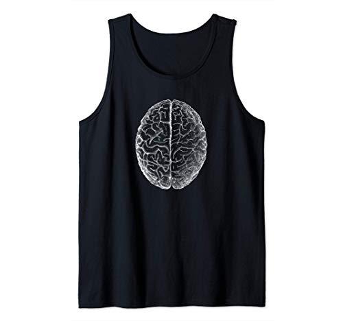 Anatomía clásica del cerebro humano Anatomía humana Camiseta sin Mangas