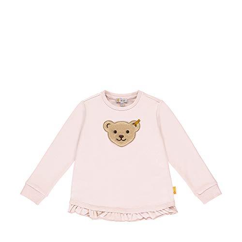Steiff Mädchen Sweatshirt, Rosa (Barely Pink 2560), (Herstellergröße: 116)