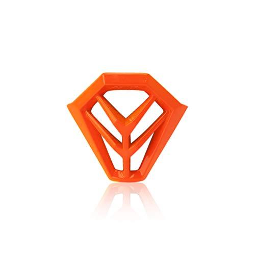 Prise d'air avant ECLIPSE/Steel Jr Orange fluo