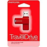Red Memorex GB Swivel TravelDrive USB Ultra Portable 2.0 Flash Travel Drive