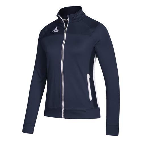 adidas Womens Climalite Utility Jacket M Navy/White