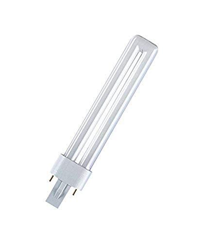 Osram DULUX S 11 W 900 Lampada Fluorescente Compatta, Bianco Neutro, 4000 Kelvin, compact fluorescent light (cfl), g23, tubolare