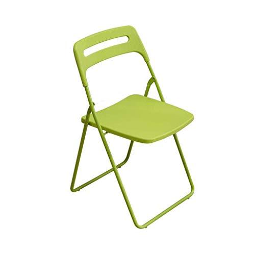LLYU Klappstuhl nach Hause zurück einfach Studentenschlafzimmer Klappstuhl Büro IKEA Stil Esszimmerstuhl