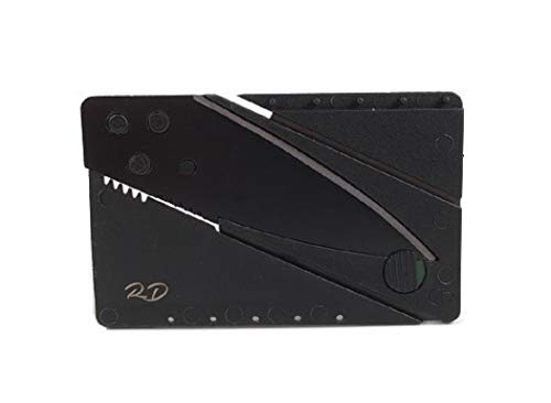 Folding Credit Card Knife - Outdoor Knife - Gifts Under $10