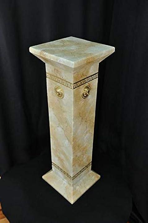 Colonne romane colonne in marmo scultura figura decorazione stand 1033 jv moebel medusa B07QLFVC9W