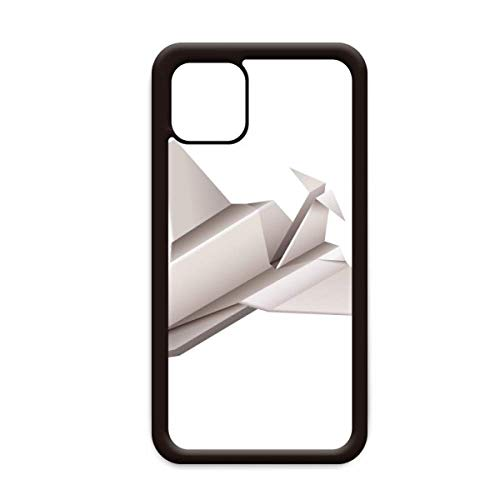 Origami Geometrische Abstract Vliegtuig Patroon voor Apple iPhone 11 Pro Max Cover Apple mobiele telefoonhoesje Shell, for iPhone11 Pro Max