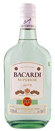 Bacardi weiß, Carta Blanca, ältere Ausstattung, 0,35l.