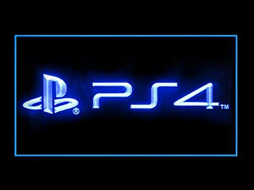 Lamazo PS4 Playstation 4 Store Games Shop Advertising Led Light Sign