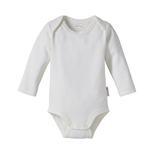 Bornino Le body à manches longues bébé, blanc