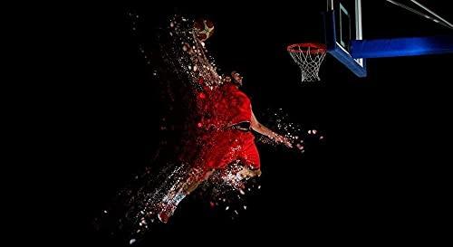 Rompecabezas 1000 piezas para adultos, baloncesto, volcado, educativo, intelectual, juguete descompresión, divertido juego familiar para niños, adultos, desafiantes, rompecabezas, regalo, 38x26 cm