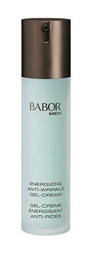 BABOR MEN Anti Wrinkle Face & Eye Energizer, schnell einziehende Gel-Creme für Gesicht und Augenpartie,1er Pack (1 x 50 ml)