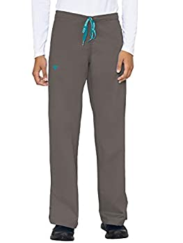 Med Couture Signature Drawstring Pant for Women Charcoal/Aruba Blue XXX-Large