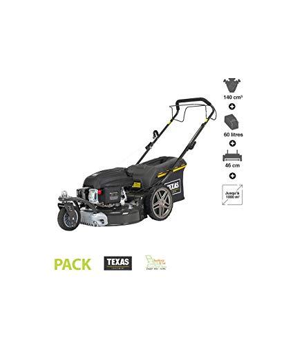 TEXAS Premium 4675 TR/W | Benzinrasenmäher | Rasenmäher | 4-Takt | 46 cm Arbeitsbreite | Schnitthöhenverstellung | Mulchfunktion | Radantrieb