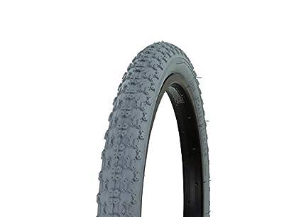 "Fenix Cycles Bicycle Tire Wanda 20"" x 2.125"" Comp3 Thread. Bike tire, (Grey)"