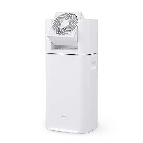 アイリスオーヤマ 衣類乾燥除湿機 スピード乾燥 サーキュレーター機能付 デシカント式 ホワイト/グレー IJD-I50-WH