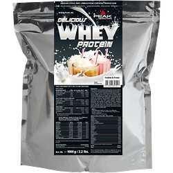 PEAK INTERNATIONAL Delicious Whey Protein, 1 kg Beutel, Cocos