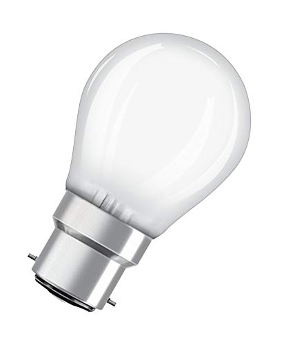 OSRAM LED Star Classic P, fitting: B22d, niet dimbaar, warm wit, vervangt een conventionele 25 watt lamp, mat, pak van 10