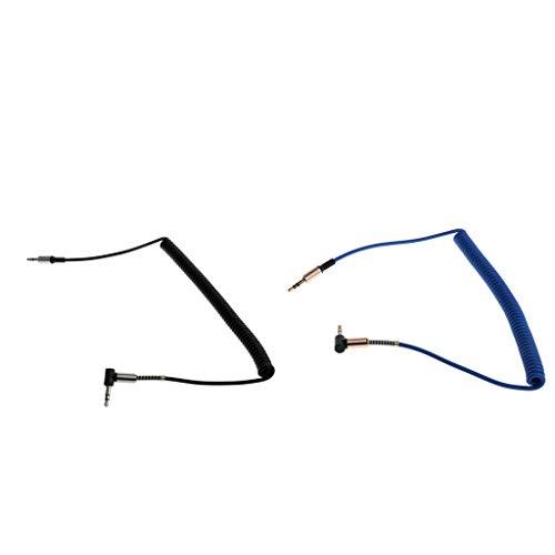 balikha Cable de Audio Auxiliar Jack de 3,5 Mm Macho a Auxiliar Macho para Coche/Reproductores Multimedia