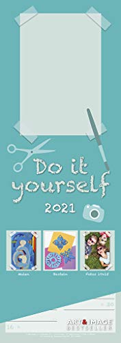 Do-it-yourself 2021 A&I - Bastelkalender - DIY-Kalender - 14,85x42