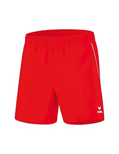 erima Kinder Shorts Tischtennis, rot/weiß, 152, 1090704