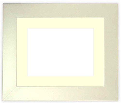 写真用額縁 5659/パールホワイト B3サイズ(515×364mm) ガラス マット色:黒
