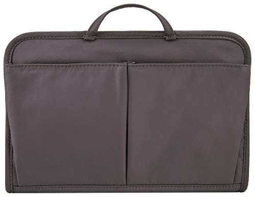 Travelon Women's RFID Blocking Classic Purse Organizer-Large, Pewter, One Size
