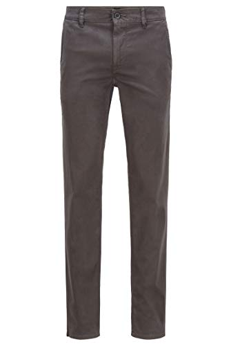 BOSS BOSS Herren Schino-Slim D Slim-Fit Casual-Chino aus angerauter Stretch-Baumwolle
