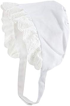 Nouveau Bébé Fille Broderie Anglaise Rose Et Blanc Bonnet//Chapeau-été 0-18 Mois
