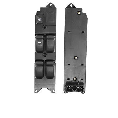 QWERQF Botón del Interruptor de la Ventana de energía eléctrica del Coche Delantero Izquierdo MR194826 MR260387,para Mitsubishi Pajero Montero Shogun 1990-2004