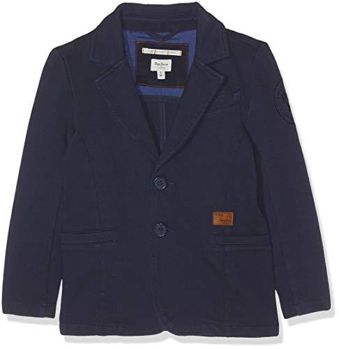 Pepe Jeans Lenny Jr Pb400632 Giacca, Blu (Naval Blue 575), 15-16 (Taglia Produttore: 16 Anni) Bambino